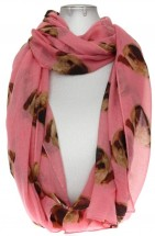 Pug Ladies Scarfs (Available in 4 colours)