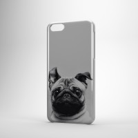 Windy Pug Phone Cover Case (For various models)