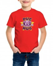 Kids Pug Hug T-Shirt (Available in 5 colours)