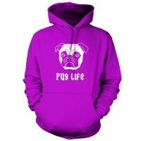 Unisex Pug Life Hoodie (Available in 9 colours)