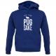 ROYAL BLUE PUG HOODIE
