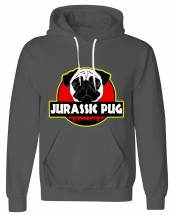 Unisex Jurassic Pug Hoodie (Available in 10 colours)