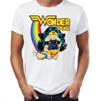 Mens Wonder Pug T-Shirt