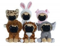 Plush Pug Toys (Available in 6 costumes)