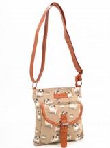 Ladies Pug Messenger Bag