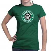 Ladies Star Pugs T-Shirt (Available in 6 colours)