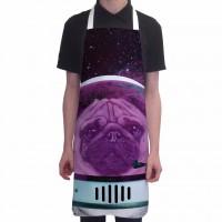 Unisex Astro Pug Apron