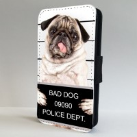 Bad Pug Shot Phone Case (For Various Models)