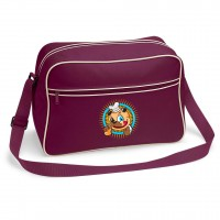 Cartoon Baker Pug Messenger Bag (Available in 10 colours )