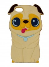 Pug 3D Silicone iPhone 6/6s Cover (Available in 3 colours)
