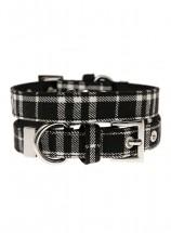 Urban Pup Black Tartan Collar