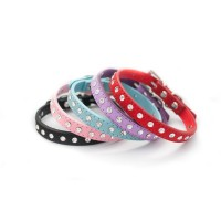 Wagytail Diamante Collars (Available in 5 colours)