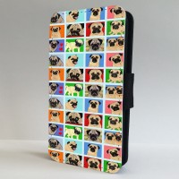Many Faces Of A Pug Phone Case (For Various Models)
