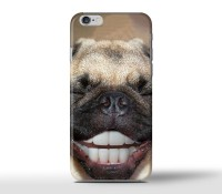 Funny Pug Teeth iPhone Phone Covers For Various Iphone Models