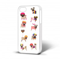 Gay Pride Pug Apple Iphone Cover
