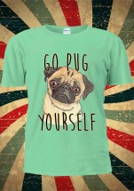 Go Pug Yourself Unisex T-Shirt (Available in 5 colours)