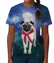 Kids Chef Pug T-Shirt
