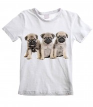 Child's Pug Puppy T-Shirt