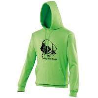 Ladies Pugs Not Drugs Hoodie (Available in 5 colours)