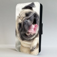 Laughing Pug Phone Case For All iPhones