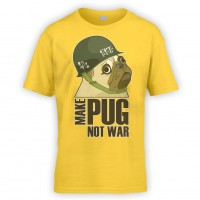 Kids Make Pug T-Shirt (Available in 10 colours)