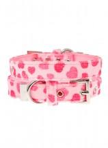 Urban Pup Pink Hearts Collar