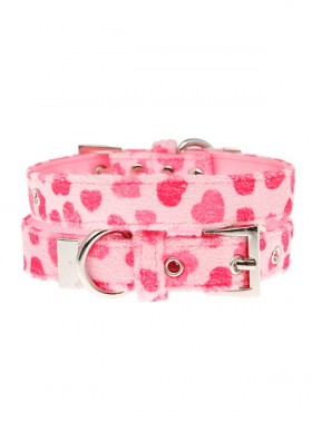 Urban Pup Pink Hearts Collar
