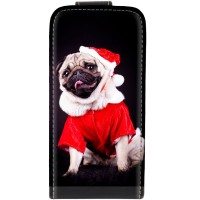 Santa Pug iPhone 6plus/6s plus cover