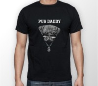 Mens Pug Daddy T-Shirt