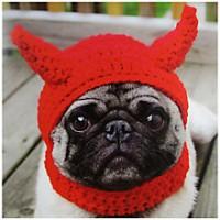 Pug Devil Blank Card