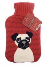 Pug Hot Water Bottle