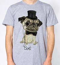 Pug In Top Hot Unisex T-Shirt