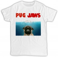 Unisex Pug Jaws Teeth T-Shirt
