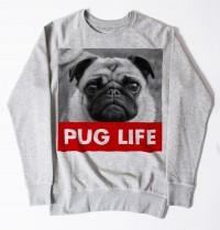 Pug Life Unisex Sweater