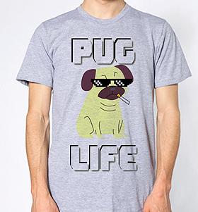 Unisex Pug Life  T-Shirt