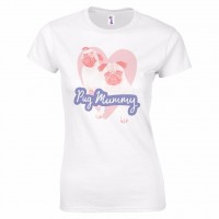 Pug Mummy T-Shirt (Available in 2 colours)