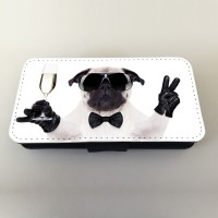 Waiter Pug Phone Case (For Various Models)