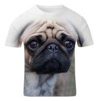 Mens Sad Pug T-Shirt