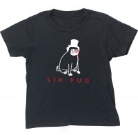 Kids Sir Pug T-Shirt