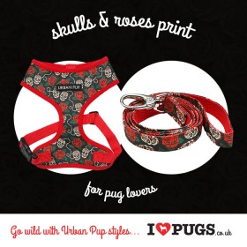 Urban Pup Skulls & Roses Special Offer