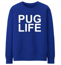 Pug Life Printed Unisex Sweater (Available in 5 colours)