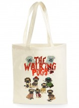 The Walking Pug Tote Bag