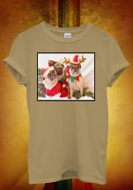 Three Pugs Elf Christmas T-Shirt (Available in 5 colours)