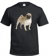 Pug Dog Unisex T-Shirt (Available in 2 colours)