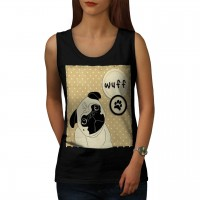 Ladies Pug Wuff Vest