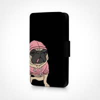 Pug In Hoodie Phone Case (For Various Models)
