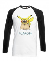 Unisex Pugachu Pokemon T-Shirt