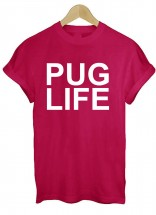 Pug Life Printed Unisex T-Shirt (Available in 5 colours)