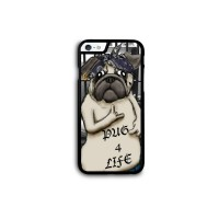 Tupac Pug iPhone Cover For Various Models