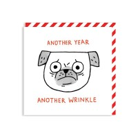Another Year Another Wrinkle Card By Gemma Correll